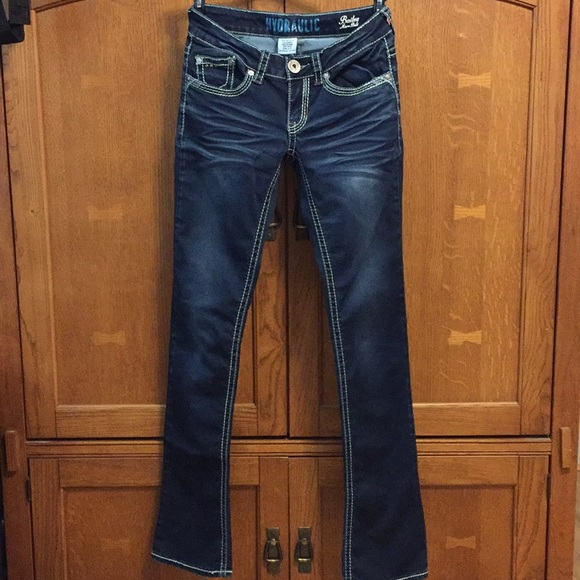 Hydraulic Denim - Hydraulic Bailey Micro Boot size 1/2 jeans